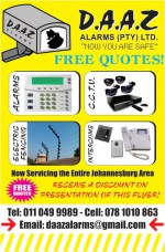 Daaz Alarms (Pty) Ltd